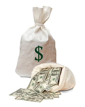 Money bags photo