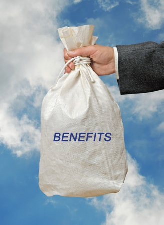 Bag with benefits Stock Photo - 9649182