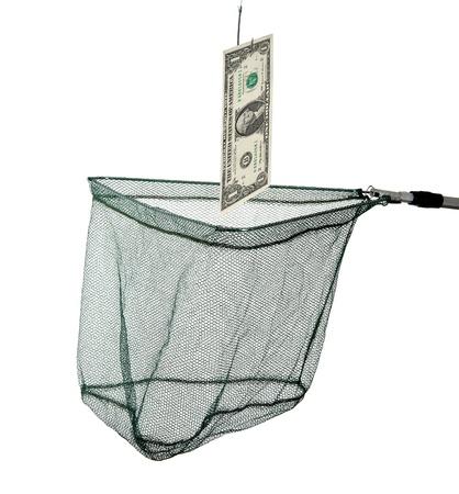 Caching dollar photo
