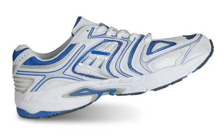 gym shoes: Sneaker isolated on white background