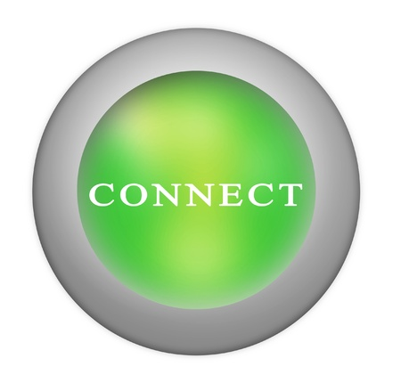 Connect button Stock Photo - 10709733