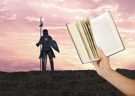 ballad: Reading about knights