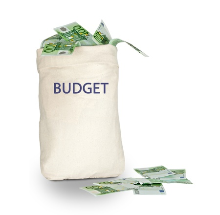 rd: Bag with budget