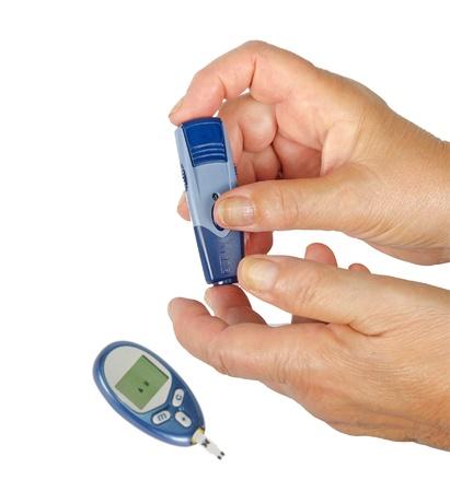 Measurement of glucose Stock Photo - 10832479