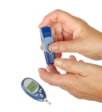 Measurement of glucose Stock Photo - 10832479