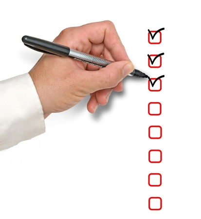 Checklist Stock Photo - 11150710