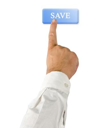 command button: Save button