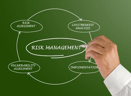 vulnerability: Diagram of risk management