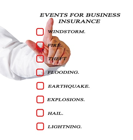 Events for business insurance photo