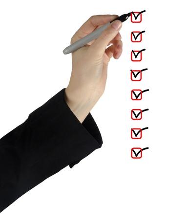 marking up: Lista de verificaci�n