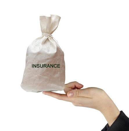 Bag with insurance photo