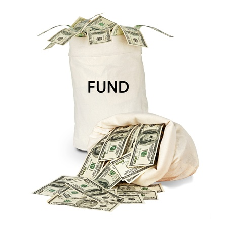 Bag with fund Stock Photo - 12657707