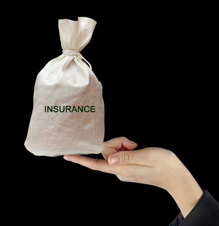 Bag with insurance Stock Photo - 12870053