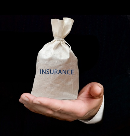 life events: Bag with insurance