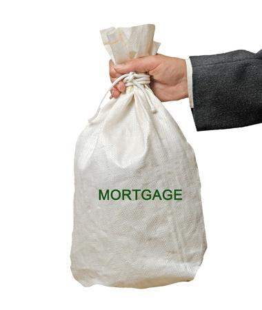 creditor: bag with mortgage