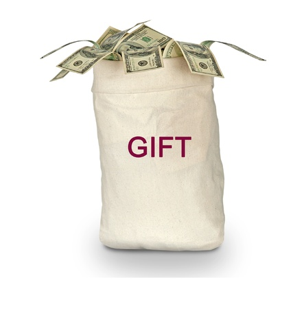 altruism: bolsa con regalos