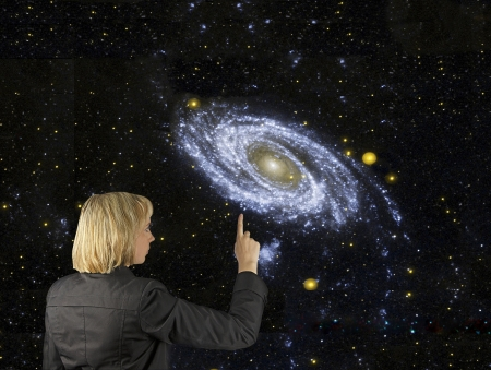 cosmology: Pointing to our galaxy.