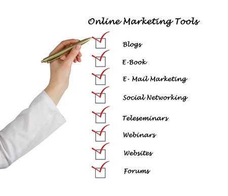 Online marketing tools photo