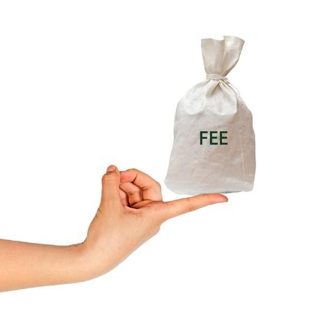 honorarios: Pago de la tasa
