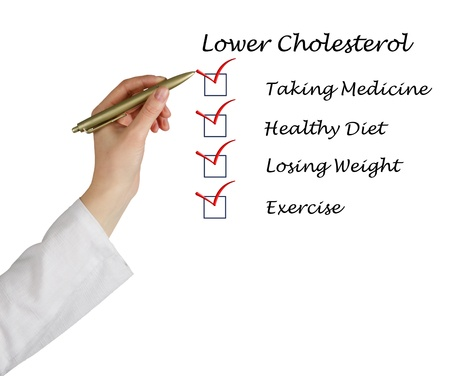 List to lower cholesterol Stock Photo - 13871824