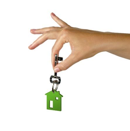 home help: Hand with key