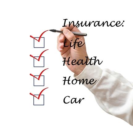Insurance list photo