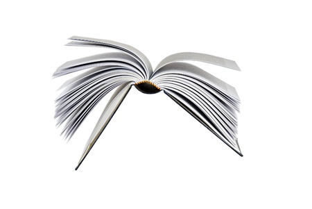 Flying book Stock Photo - 14038436
