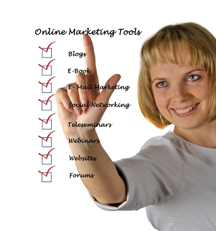 Online marketing tools
