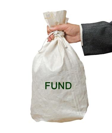 fondos negocios: Bolsa con el Fondo