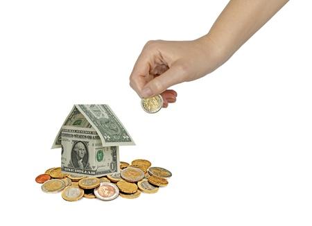 Money home  photo
