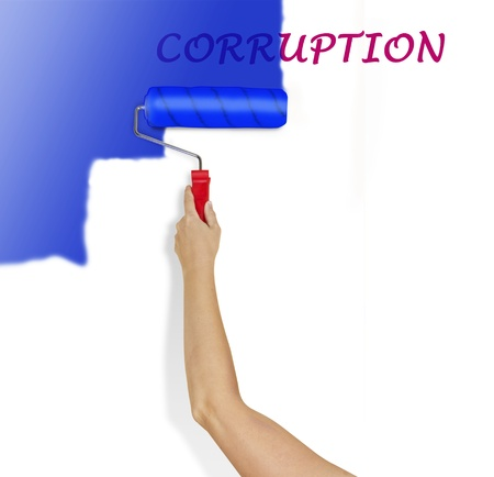 Fighting corruption photo