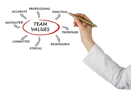 norm:  team values and norms