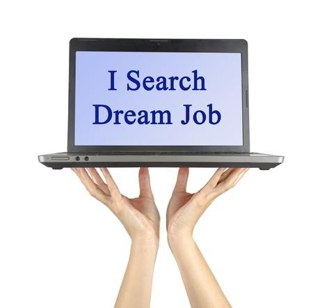 searh: I searh dream job
