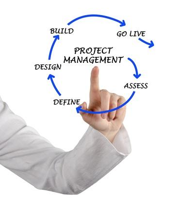 diagrama de procesos: Gesti�n de proyectos