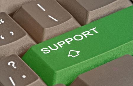 サポートのためのキー