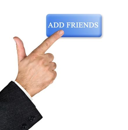 myspace: Adding friends