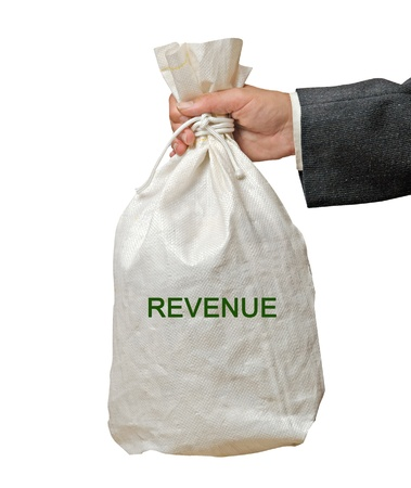 Bag with revenue photo
