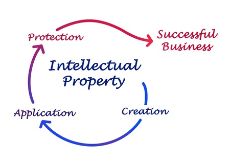 Intellectual property diagram Stock Photo - 16562698