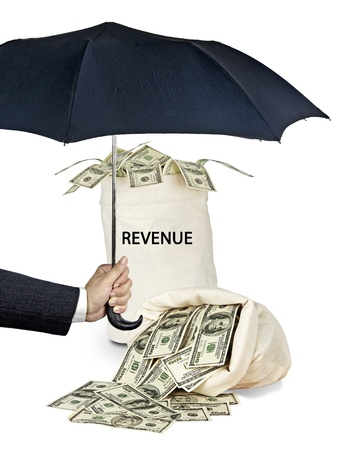 Protection of revenue Stock Photo - 16676281