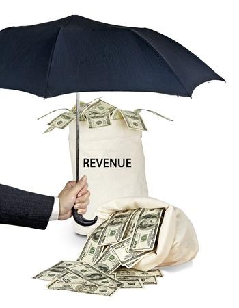 Protection of revenue Stock Photo - 16676281