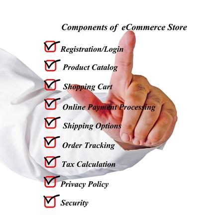 Components of eStore Stock Photo - 16759619