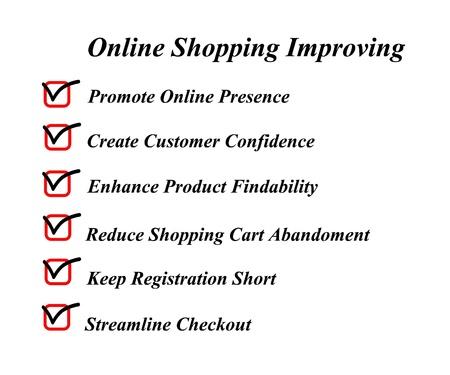 Online shopping improving Stock Photo - 16759617