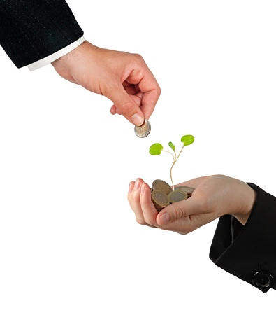Investing to green business Stock Photo - 16759615