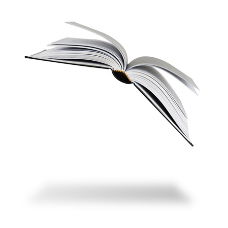 open up: Flying book