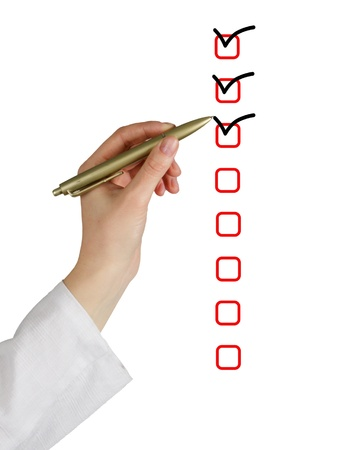checklist Stock Photo - 17572434
