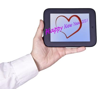 backcground: Tablet computer