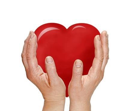Gift of heart Stock Photo - 17572445