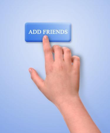 Add friend button photo