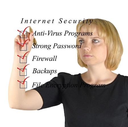 os: Checklist for internet  security