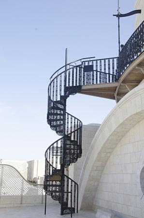 hurva: Stairs at Hurva synsgogue